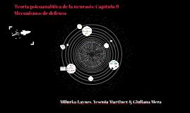 Teoría psicoanalítica de la neurosis: Capítulo 9 - Mecanismo