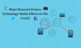 Major Research Project; Technology/ Media Effects on The Fam