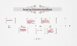 Israel og Palæstina konflikten