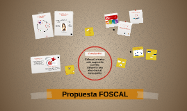 Propuesta FOSCAL