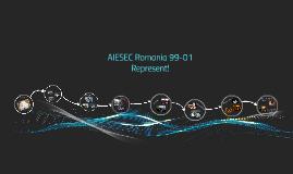AIESEC Romania 99-01
