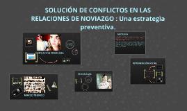 Solución de Conflictos en las Relaciones de Pareja