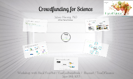 Crowdfunding  for Science