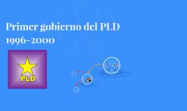Primer gobierno del PLD 1996-2000