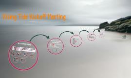 Rising Tide Kickoff Meeting