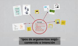 Copy of Tipos de argumentos