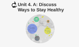Unit 4. Discuss Ways to Stay Healthy