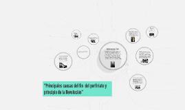 """Copy of """"Principales causas del porfiriato"""""""