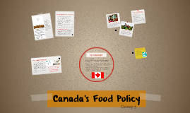 Canada's Food Policy