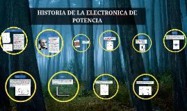 Copy of Historia de la electronica de potencia