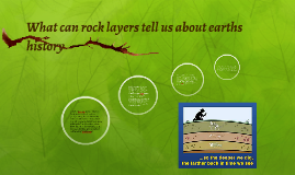 Copy of What can rock layers tell us about earths history