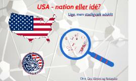 USA - SYNOPSIS