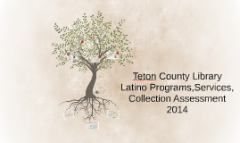 Teton County Library Latino Programs & Services