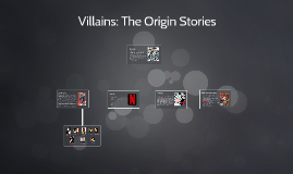 Villians: The Origin Stories