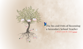 The Ins and Outs of Becoming a Secondary School Teacher