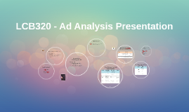 LCB320 - Ad Analysis Presentation