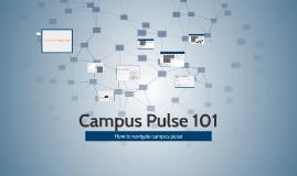 Campus Pulse 101