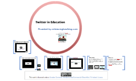 Twitter in Education