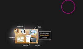 Desktop Prezumé by maria  lifante