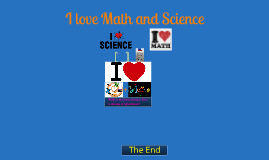 I Love Math and Science