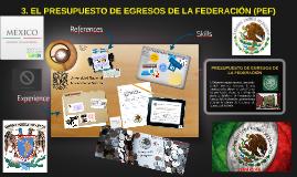 Copy of PRESUPUESTO DE EGRESOS DE LA FEDERACIÓN
