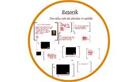 Copy of  Retorik- om etos, patos och logos
