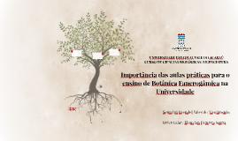 Importância das aulas práticas para o ensino de Botânica Fan