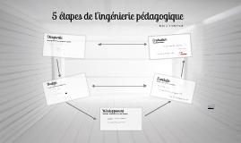 Copy of 5 étapes de l'ingénierie pédagogique