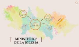 MINISTERIOS DE LA IGLESIA