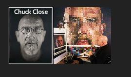 Artist - Chuck Close