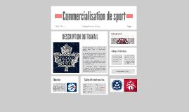 Commercialisation de sport
