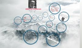 Alberto Calderon