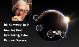 All Summer In A Day; Film Version Review