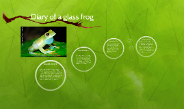 Diary of a glass frog