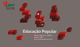Educação Popular 2017