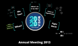 Loss Prevention: Basecamp Annual Meeting 2013