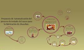 Automatización del proceso de tostado de la semilla del cacao