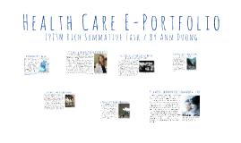 Health Care E-Portfolio