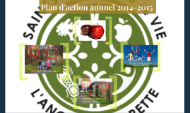 Plan d'action annuel TSHVAL 2014-2015