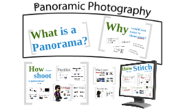 Panoramic Photography - 20 minutes