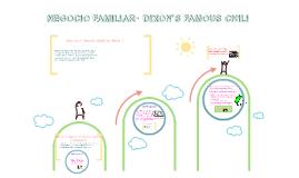 NEGOCIO FAMILIAR- DIXON'S FAMOUS CHILI