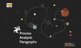 Process Analysis Paragraphs