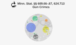 Minn. Stat. §§ 609.66-.67, 624.713