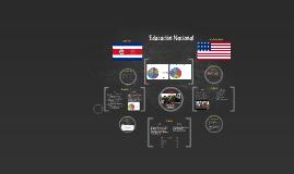 Educacion Nacional de C.R y EE.UU