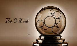 The Ibo culture