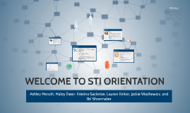 WELCOME TO STI ORIENTATION