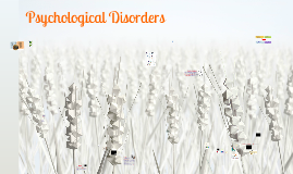 Psychological Disorders with readings