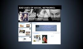 BAD USES OF SOCIAL NETWORKS