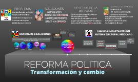 La Reforma Política Federal