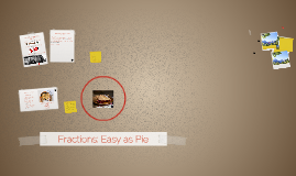Fractions: Easy as Pie